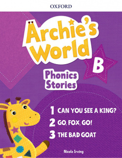 ARCHIE S WORLD B PHONICS READERS PACK