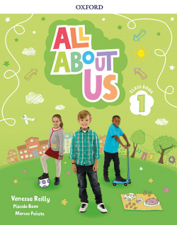ALL ABOUT US 1 PRIMARY COURSEBOOK PACK MADRID