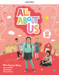 ALL ABOUT US 2 PRIMARY COURSEBOOK PACK MADRID