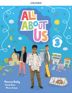 ALL ABOUT US 3 PRIMARY COURSEBOOK PACK MADRID