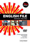 (DVD).ENGLISH FILE ELEMENTARY CLASS DVD (3ªED.)