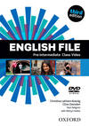 (DVD).(12).ENGLISH FILE PRE-INT.(CLASS DVD) 3ªED.