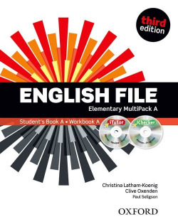(12).ENGLISH FILE ELEMENTARY (MULTIPACK A)