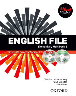 (12).ENGLISH FILE ELEMENTARY (MULTIPACK B)