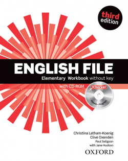 English File Elementary: Workbook Without Answer Key and iCh