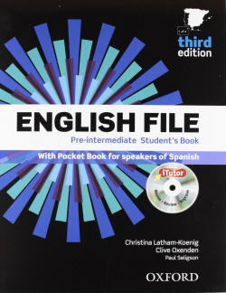 (12).(PACK-KEY).ENGLISH FILE PRE-INT.(THIRD.ED) (+ITUTOR)