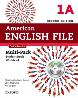 (15).AMERICAN ENGLISH FILE MULTIPACK 1A (+ONLINE SKILLS)