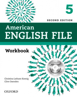American English File 5: Workbook Without Answer Key Pack 2ª
