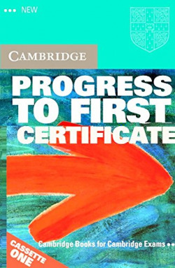 (K7).NEW PROGRESS FIRST CERTIFICATE.CASSETTE