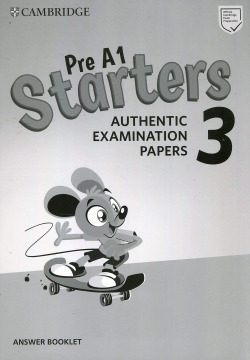 PRE A1 STARTERS 3 ANSWERS BOOKLET 2019