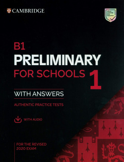 B1 PRELIMINART FIR SCHOOLS 1 REVISED EXAM STUDENT WITH ANSWERS 020