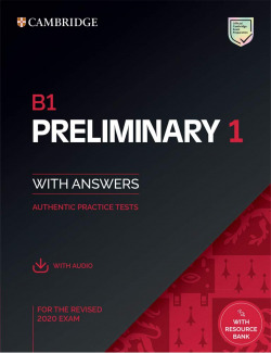 B1 Preliminary 1 for revised exam from 2020. Student's Book with