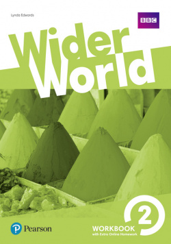 wider world 2 workbook with online homework pack 2017