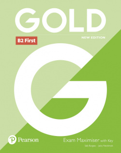 (18).GOLD B2 FIRST EXAM MAXIMISER WITH KEY