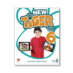 NEW TIGER 6 ACTIVITY BOOK PACK