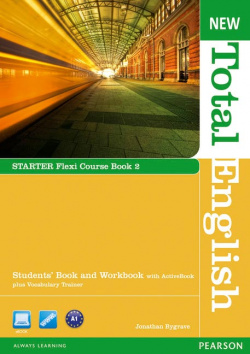 (12).NEW TOTAL ENGLISH STARTER FLEXI COURSEBOOK 2 PACK