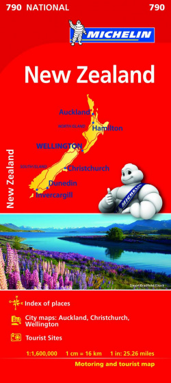 MAPA 790 NATIONAL NEW ZEALAND