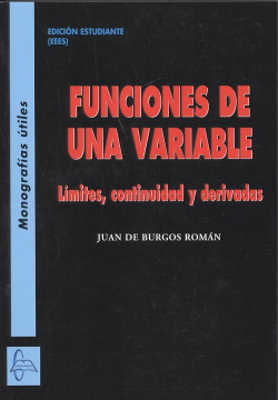 FUNCIONES DE UNA VARIABLE