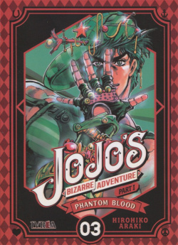 JOJO BIZARRE ADVENTURE PARTE 01 PHANTOM BLOOD N 03