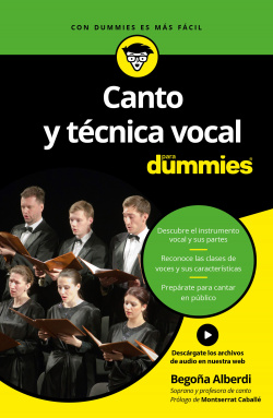 CANTO Y T�CNICA VOCAL PARA DUMMIES