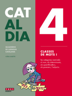 4 CLASSES DE MOTS. CAT AL DIA 2019