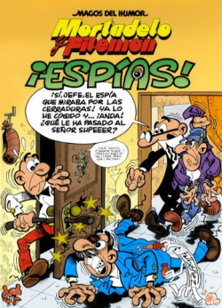­ESPIAS!:MORTADELO Y FILEMON