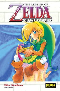 The legend of Zelda 7, Oracle of ages