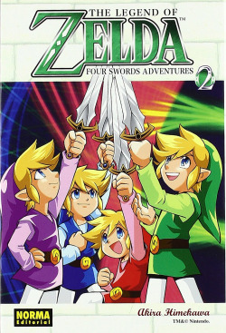 The legend of Zelda. Four swords 2