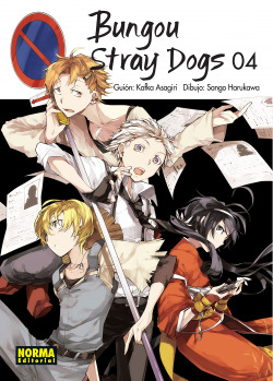 BUNGOU STRAY DOGS 4