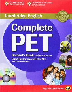 (11).COMPLETE PET (ST+CD) (SPANISH SPEAKERS)