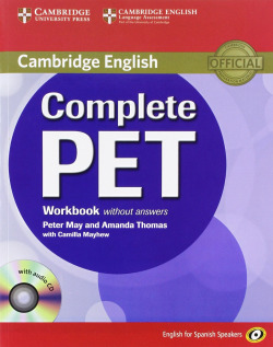 (11).COMPLETE PET (WB+CD) SPANISH SPEAKERS