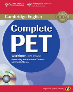 (11).COMPLETE PET (WB+KEY+CD) SPANISH SPEAKERS