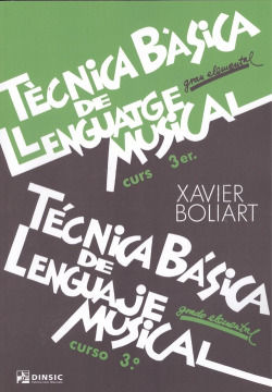 (CAT).TECNICA BASICA LLENGUATGE MUSICAL 3.(GRAU ELEMENTAL)