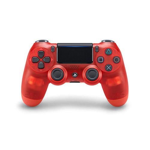 Dual Shock Controller Rojo Transparente V2 SONY Ps4