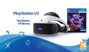 Playstation VR + VR Worlds PS4