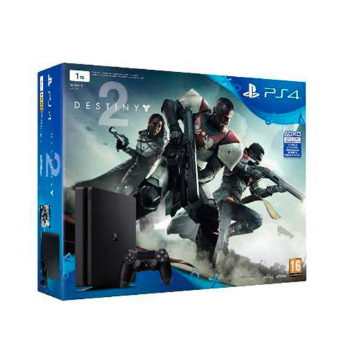 Consola Ps4 1TB Slim+Destiny 2+Voucher Has Sido Tu?
