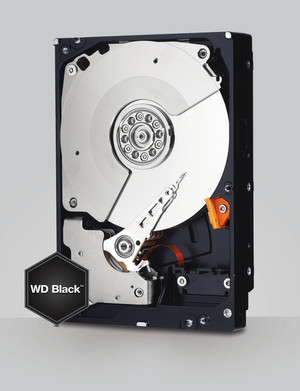 Disco Duro 3.5 SATA3 4TB WD BLACK 128MB