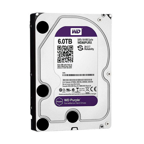 Disco Duro 3.5 1TB SATA3 WD 64MB Purple