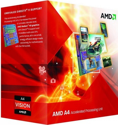 CPU AMD FM2 A4-6300 2X3.7GHZ/1MB BOX
