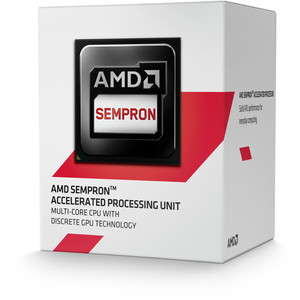 Procesador AMD AM1 SEMPRON 3850 4X1.3GHZ/2MB BOX