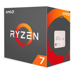 Procesador AMD AM4 RYZEN 7 1700 8X3.7GHZ/20MB BOX