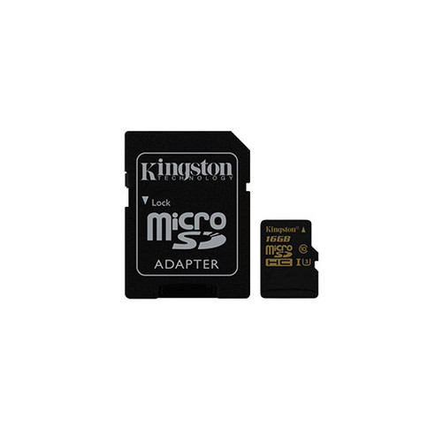 Tarjeta de Memoria microSD 16GB KINGSTON UHS-I CL3(U3)