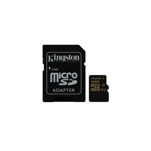 Tarjeta de Memoria microSD 16GB KINGSTON UHS-I CL3(U3)