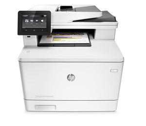 Impresora Hp Multifuncion Laserjet Color M477Fnw