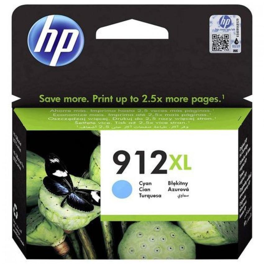 CARTUCHO TINTA ORIGINAL HP 912XL CIAN 3YL81AE
