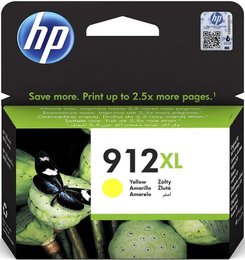 CARTUCHO TINTA ORIGINAL HP 912XL AMARILLO 3YL83AE