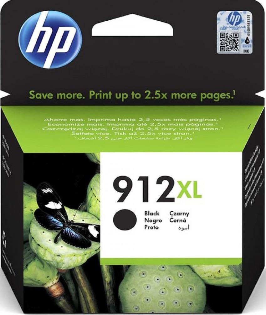 CARTUCHO TINTA ORIGINAL HP 912XL NEGRO 3YL84AE