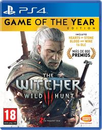 The Witcher 3 : Wild Hunt Goty Edition Ps4