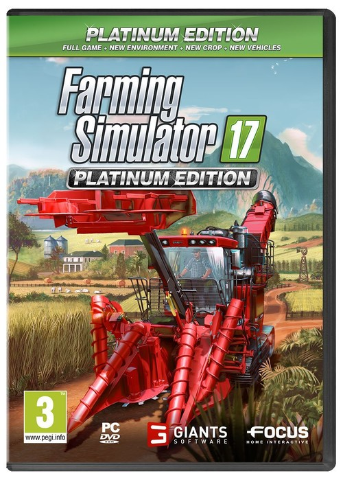 Farming Simulator 17: Platinum Edition Pc
