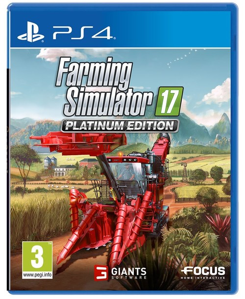 Farming Simulator 17: Platinum Edition Ps4